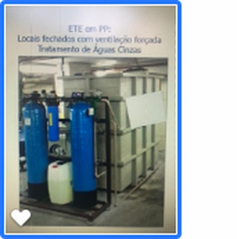 Reuso de água Residencial Valor São Roque - Reuso de água Cinza