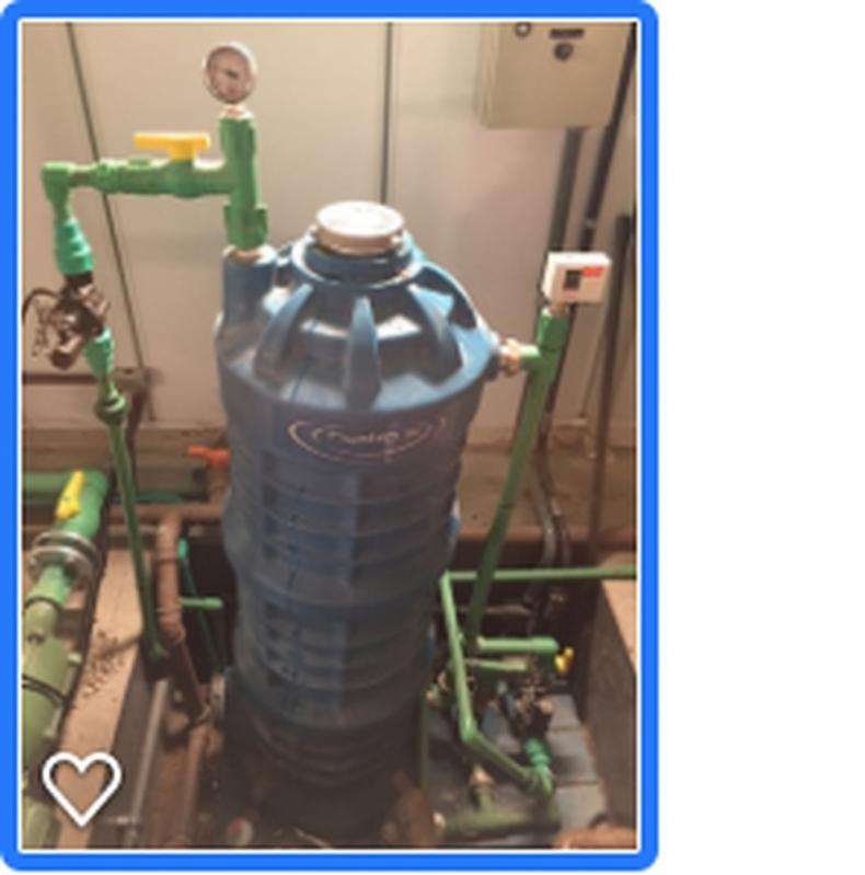 Reutilização de águas Pluviais Orçamento Região Central - Reutilização de águas Cinzas
