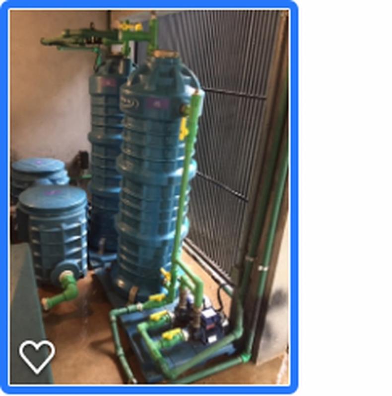 Sistema para Reutilização da água em Residências Capela do Alto - Reutilização da água Residual