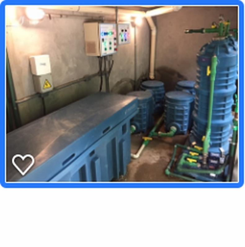 Sistema para Reutilização de água Cinza Rancho Grande - Reutilização de águas Cinzas