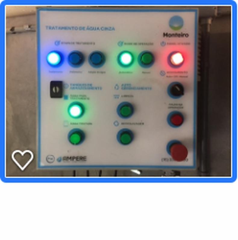 Sistema para Reutilização de água da Máquina de Lavar Cesário Lange - Reutilização de águas Cinzas