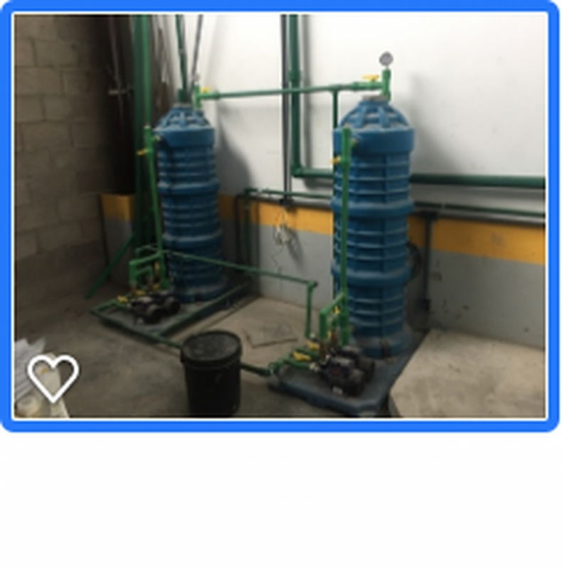 Sistema para Reutilização de água Doméstica Piedade - Reutilização de água Industrial