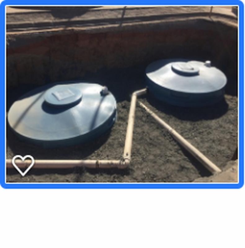 Sistema para Reutilização de águas Cinzas Iperó - Reutilização da água Residual