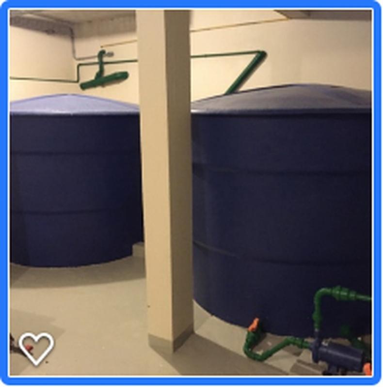 Sistema para Reutilização de águas Pluviais Zona Sul - Reutilização de águas Cinzas
