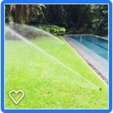 irrigação automática para jardim preço m2 Tietê