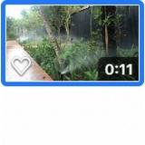 irrigação automática para plantação preço m2 Vila Paulina