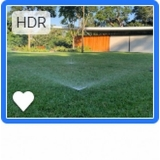 irrigação automatizada preço m2 Cesário Lange