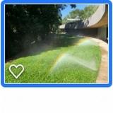 irrigação localizada Quadra