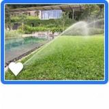 irrigações automatizada para jardim Cesário Lange