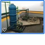 reutilização de água da máquina de lavar