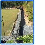 sistema de drenagem de terreno instalar Alambari