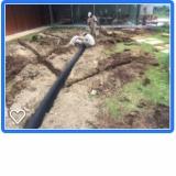 sistema de drenagem em campo de futebol Indaiatuba