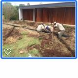 sistema de drenagem jardim Alambari