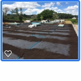 sistema de drenagem para jardim