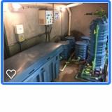 sistema para reutilização de água cinza Vila Angélica