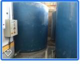 sistema para reutilização de água da chuva Cesário Lange