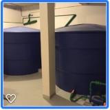 sistema para reutilização de águas pluviais Alambari